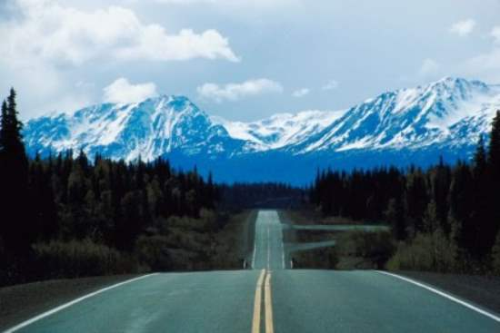 The Alcan Highway : USA Road Trip