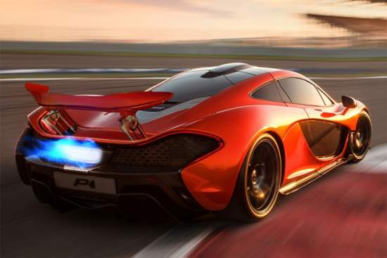 McLaren P1 : Hybrid Power at its Finest