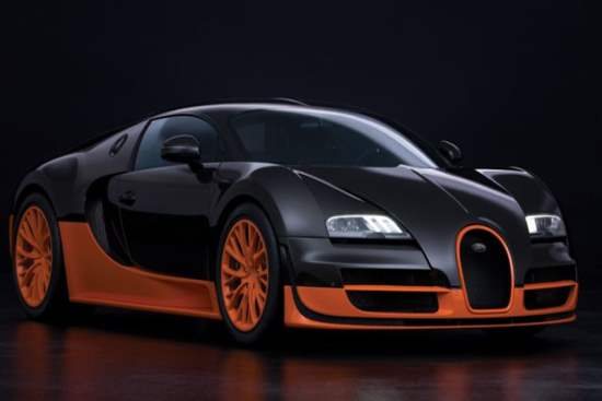 Bugatti Veyron Super Sport : The 2nd Fastest Car in the World