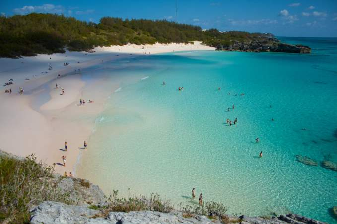 Horseshoe Bay in Bermuda